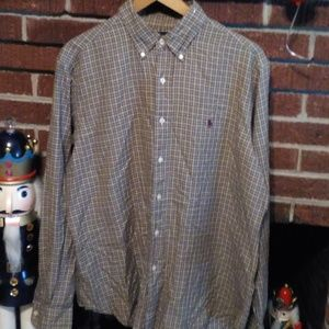 Ralph Lauren Classic Fit Men's Shirt 16 1/2/L
